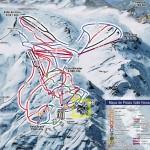 Valle Nevado - Mapa de Pistas