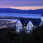 Panoramica nocturna hotel las hayas